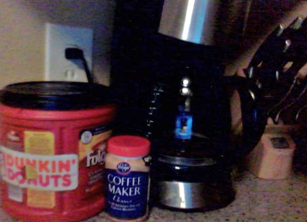 Kristen's Coffee Nemesis